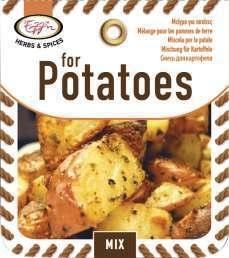 Kruidenmix voor Aardappel