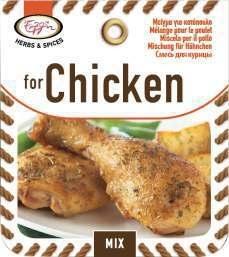 Kruidenmix voor Kip