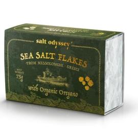 Zeezout flakes met Oregano uit Kreta