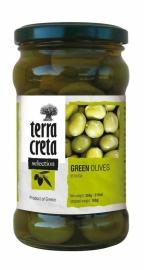 Groene olijven met pit 160 gr