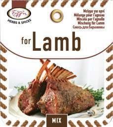 Kruidenmix voor Lam  .