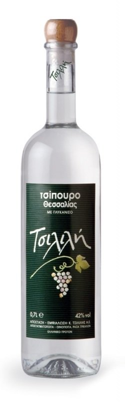 Tsipouro Tsililis met anijs 700 ml.  (  18.+ )