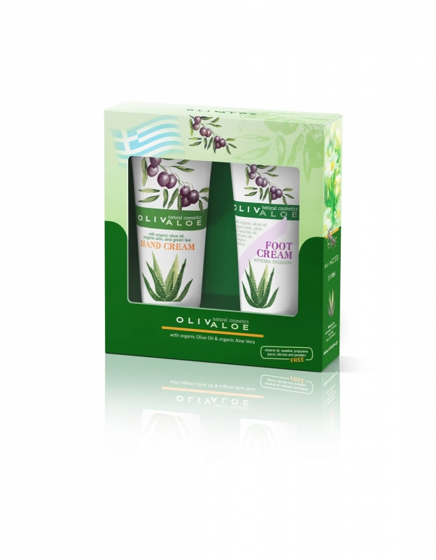 Giftset Handcrème & Soothing warming cream