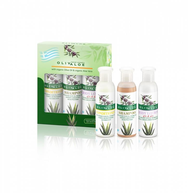 Giftset Shampoo & Conditioner & Bodylotion