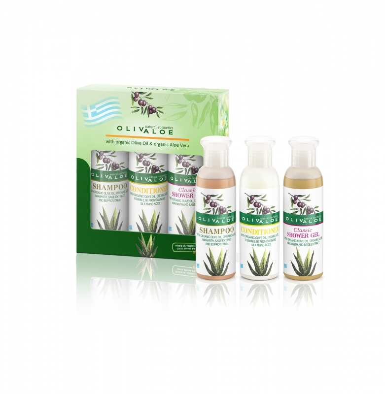 Giftset Shampoo & Foaming Scrub & Showergel