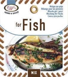 Kruidenmix voor Vis