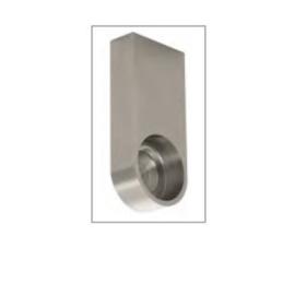 Hoedenplank bevest. set (2) voor roede 25mm of 30mm
