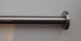 Nis roede rond 32mm met rvs rozetten