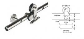 SDB-KAT met RVS buis geleider 25x2 mm