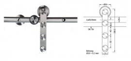 SDB-D met RVS buis geleider 25x2 mm