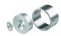 Bevest. set voor roede rond 30mm (2011H) of 25mm (2011H.25.2)