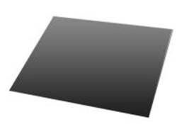 Staalplaat rechthoek 2 mm 66x80 cm