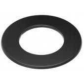Rozet 5 cm zwart