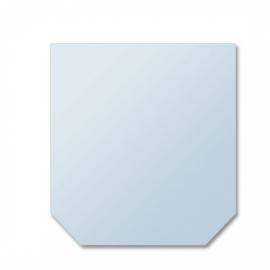 Glasplaat zeshoek 6 mm, 100x100 cm