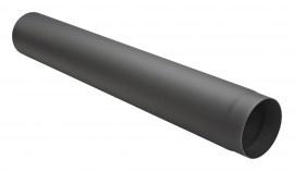 Kachelpijp 100 cm zwart / Ø 125 mm