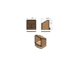 Vermiculite binnenwerk compleet TT2+TT3