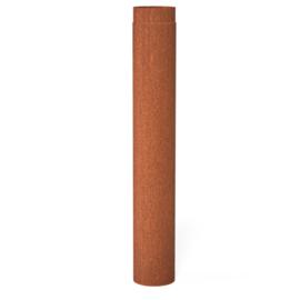 Kachelpijp 100 cm cortenstaal Ø 150 mm