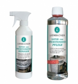 Natuur en speksteen reiniger + onderhouds-set