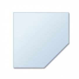 Glasplaat vijfhoek 6 mm, 110x110 cm