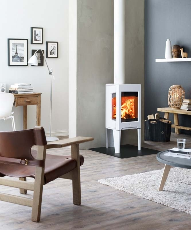 Jotul F163 CB wit emaille