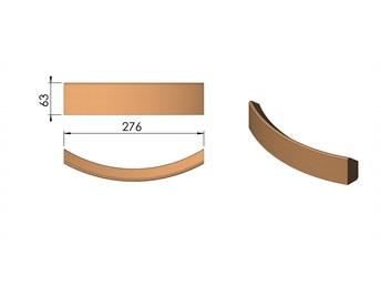 Voorwand vermiculite Termatech TT20 + TT21