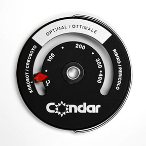 Condar pijp thermometer