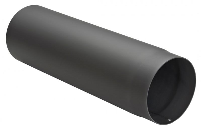 Kachelpijp 50 cm zwart / Ø 120 mm