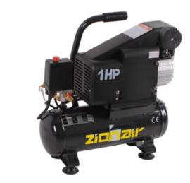 Compressor 6 liter tank - 0,75KW, 230V, 8bar
