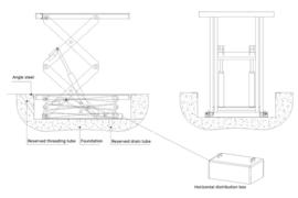 schaar lift - goederenlift Model SL-700 25-10