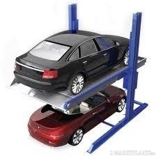 Parkeerhefbrug voor twee auto`s type AAE-PL230A