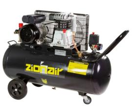 Compressor 100 liter tank - 2,2kW, 230V, 10 bar