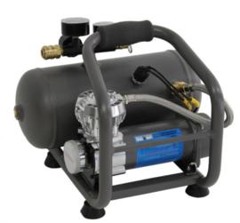 Draagbare luchtcompressor met tank 12V