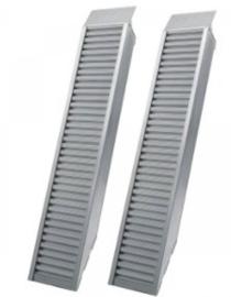 Oprijplaten aluminium (set) 3,2m 2800kg