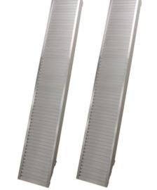 Oprijplaten aluminium (set) 2,5m 2800kg