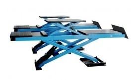 Schaar hefbrug AAE-LS140 5000mm met inbouw met middenlift
