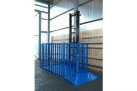 Goederenlift type 1 kolom - elke afmeting op aanvraag leverbaar !!