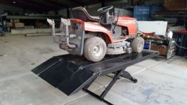 Schaar hefbrug AAE-105 1200mm DEMO ( lichte gebruiksporen)