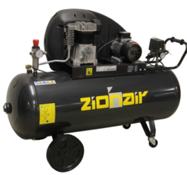 Compressor 150 liter tank - 2,2kW, 400V, 10bar