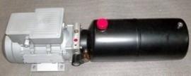 Hydraulische Unit 380 volt 10 liter