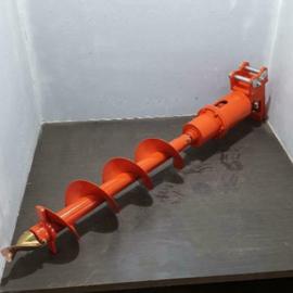 Hydraulische boor met boor 140 mm