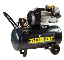 Compressor 50 liter tank - 2,2kW, 230V, 10bar
