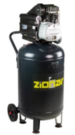 Compressor 50 liter tank - 2kW, 230V, 8bar
