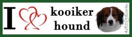 I LOVE Kooiker Hound / Kooikertje OP=OP