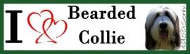 I LOVE Bearded Collie OP=OP