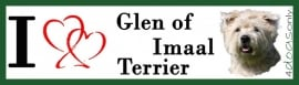 I LOVE Glen of Imaal Terrier OP=OP