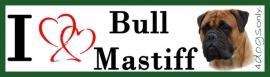 I LOVE bull mastiff fawn nr 2 OP=OP