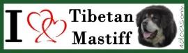 I LOVE Tibetan mastiff 02 OP=OP