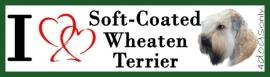 I Love Soft Coated Wheated Terrier  UITVERKOCHT