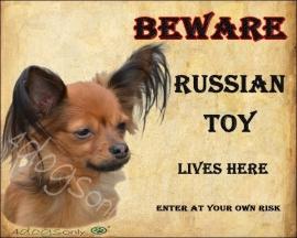 Waakbord  Russian Toy Red UITVERKOCHT