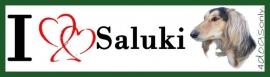 I LOVE Saluki UITVERKOCHT
